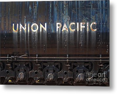 Union Pacific - Big Boy Tender Metal Print by Paul W Faust -  Impressions of Light