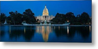 United States Capitol Metal Print by Steve Gadomski