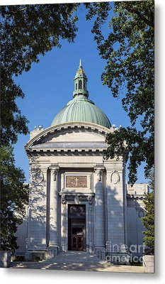 United States Naval Academy Chapel Metal Print by John Greim