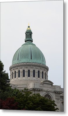 United States Naval Academy In Annapolis Md - 121258 Metal Print by DC Photographer