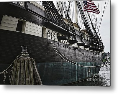 United States Ship Constellation Metal Print by George Oze