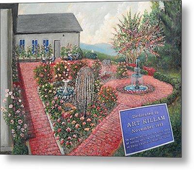 Unity Rose Garden  Metal Print by Kenneth Stockton