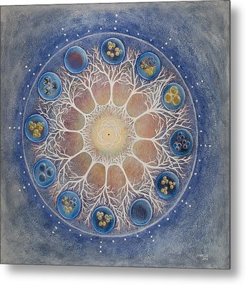 Universal Tree Of Life Metal Print by Janelle Schneider