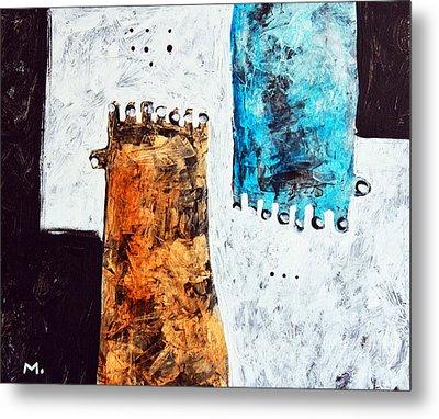 Universi No. 2 Metal Print by Mark M  Mellon