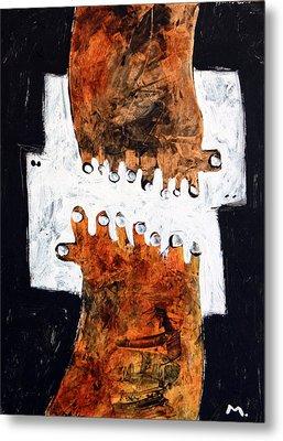 Universi No. 4 Metal Print by Mark M  Mellon