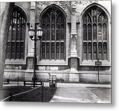 University Of Chicago 1970s Metal Print by Joseph Duba