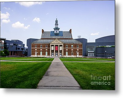 University Of Cincinnati Tangeman University Center  Metal Print by Paul Velgos