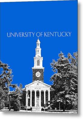 University Of Kentucky - Blue Metal Print by DB Artist