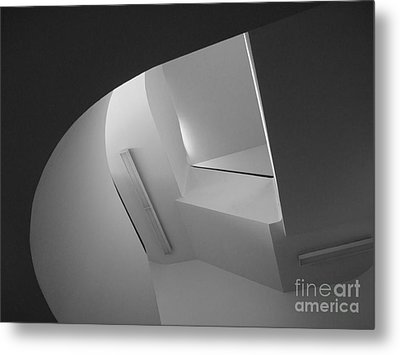 University Of Minnesota Stairwell Metal Print by University Icons