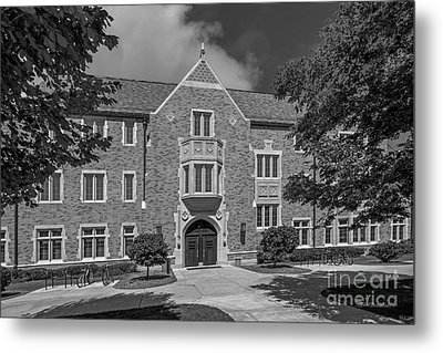 University Of Notre Dame Coleman- Morse Center Metal Print by University Icons