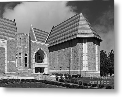University Of Notre Dame De Bartolo Performing Arts Center Metal Print by University Icons