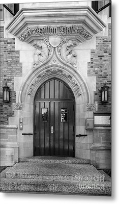 University Of Notre Dame Dillon Hall Metal Print by University Icons