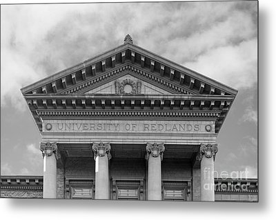 University Of Redlands Administration Building Metal Print by University Icons
