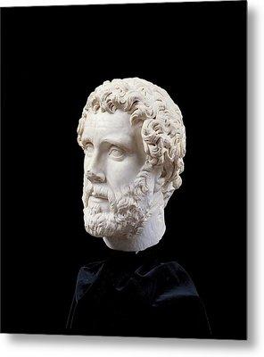 Unknown Artist, Portrait Of Antoninus Metal Print by Everett