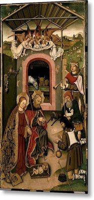 Unknown, Crib Altarpiece, 15th Century Metal Print by Everett