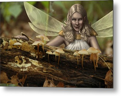 Untitled Metal Print by Mark Zelmer