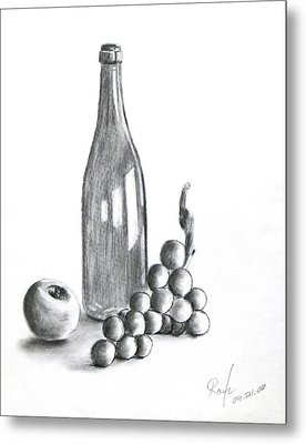 Untitled Still Life Metal Print by RB McGrath