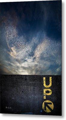 Up At Sunrise Metal Print by Bob Orsillo