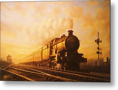 Up Express To Paddington Metal Print by Mike  Jeffries