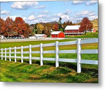 Up In Them There Hills Metal Print by Frozen in Time Fine Art Photography