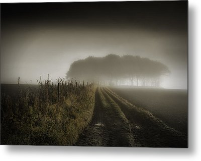 Up On T Moor... Metal Print by Russell Styles