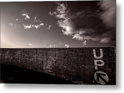 Up One Metal Print by Bob Orsillo