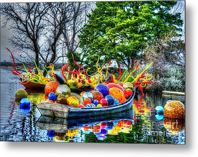 Up The Creek Without A Paddle Metal Print by Debbi Granruth