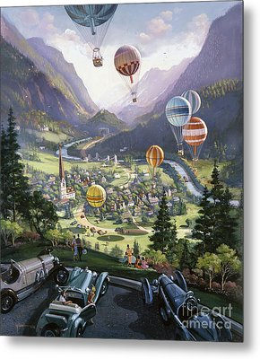 Up Up And Away Metal Print by Michael Young
