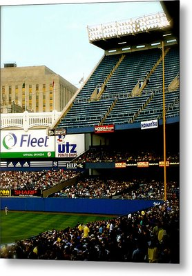 Upper Deck  The Yankee Stadium Metal Print by Iconic Images Art Gallery David Pucciarelli