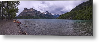 Upper Waterton Lake Metal Print by Chad Dutson