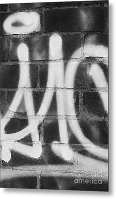 Urban Graffiti Abstract Concord 2015 Metal Print by Edward Fielding