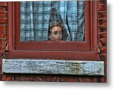 Urban Humor Metal Print by Allen Beatty