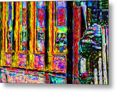 Urban Sprawl - 7d14097 Metal Print by Wingsdomain Art and Photography