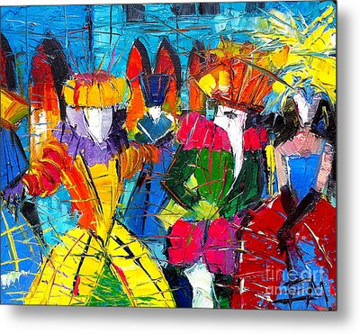 Urban Story - The Carnival 2 Metal Print by Mona Edulesco