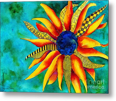 Urchin Metal Print by Shannan Peters