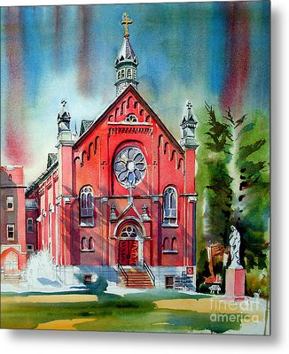 Ursuline Academy Sanctuary Metal Print by Kip DeVore