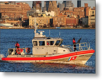 U.s. Coast Guard - Always Ready Metal Print by Paul Ward