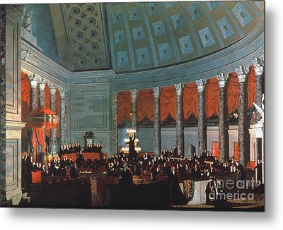 U.s. Congress - House Metal Print by Granger