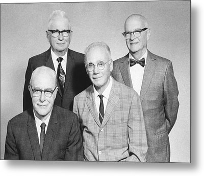Us Physicists Metal Print by Science Photo Library
