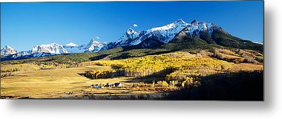 Usa, Colorado, Ridgeway, Last Dollar Metal Print by Panoramic Images