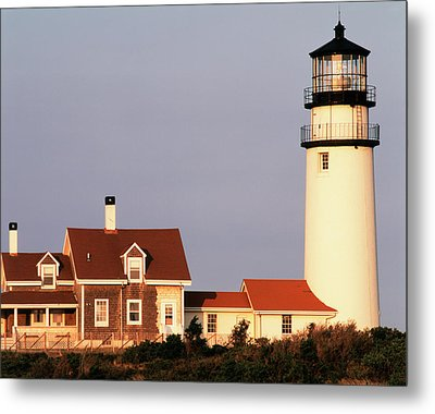 Usa, Massachusetts, North Truro, Cape Metal Print by Walter Bibikow