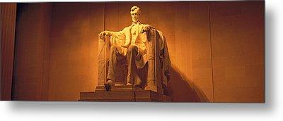 Usa, Washington Dc, Lincoln Memorial Metal Print by Panoramic Images