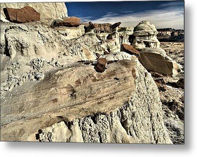 Utah Erosion Metal Print by Adam Jewell