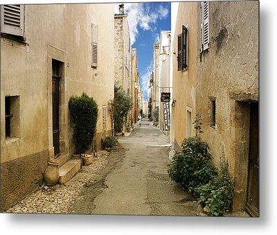 Valbonne - History And Charm  Metal Print by Christine Till