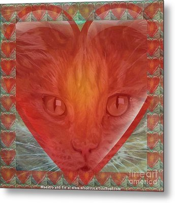 Valentine Gallery Number 3 Metal Print by PainterArtist FIN and Maestro