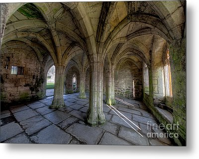 Valle Crucis Chapter House  Metal Print by Adrian Evans