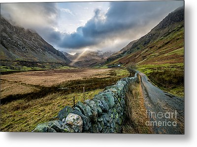 Valley Light Metal Print by Adrian Evans