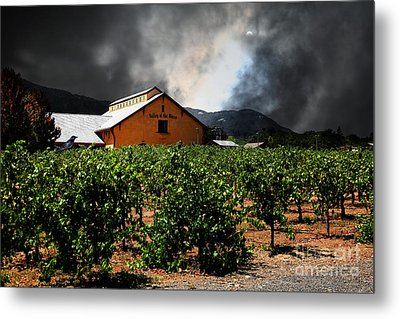 Valley Of The Moon Sonoma California 5d24485 Metal Print by Wingsdomain Art and Photography