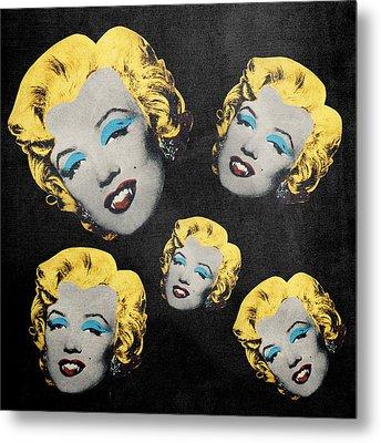 Vampire Marilyn 5 Metal Print by Filippo B