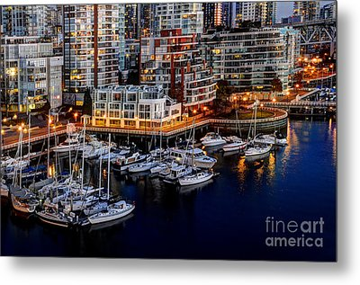 Vancouver British Columbia 10 Metal Print by Bob Christopher